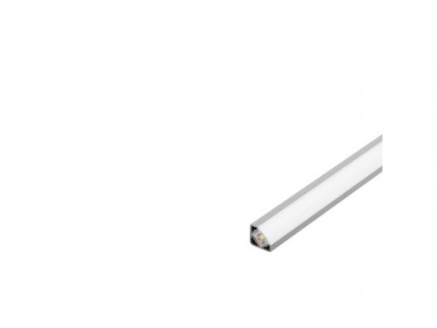 GLENOS rohový profil 2720-200, eloxovaný hliník, 2 m LA 213914