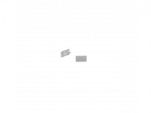 GLENOS koncová krytka pro lineární profil 1107, stříbrná, 2 ks SLV LA 213974