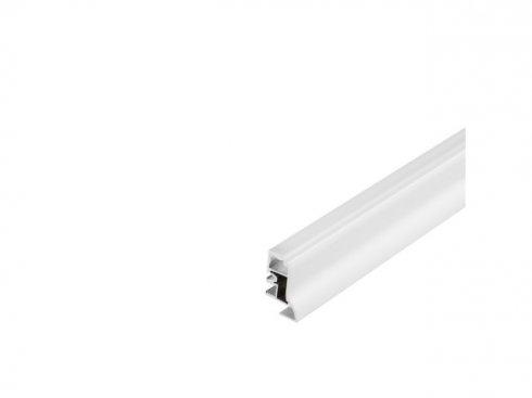 GLENOS profil nožní lišty 100, 1 m, poloprůhledný akrylový kryt - LA 214001