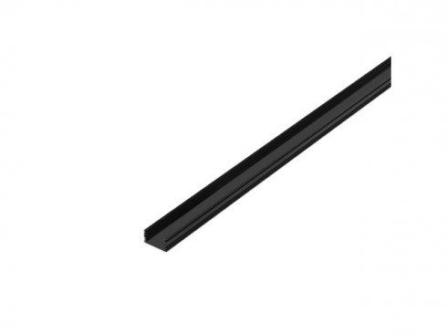 GLENOS, lineární profil 2713, bílý, 2 m, černý matný SLV LA 214330
