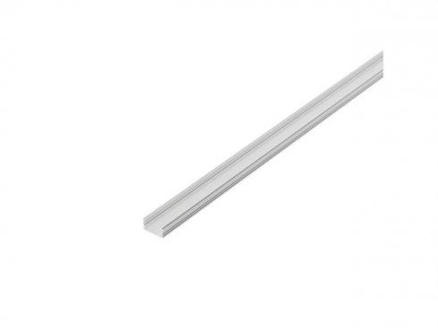 GLENOS, lineární profil 2713, bílý, 2 m, eloxovaný Al LA 214334
