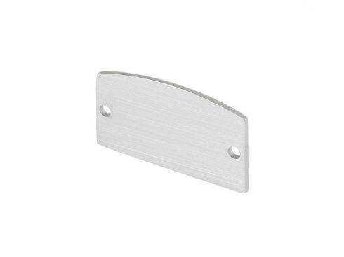 GLENOS koncové krytky pro lineární profil 2713, stříbrné, 2 ks LA 214384