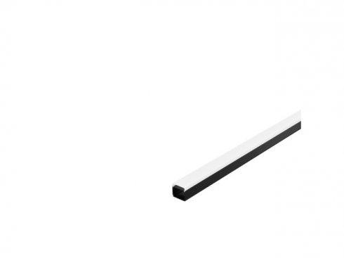 GLENOS, Industrial Profil Flat, černý matný, 2 m LA 214420