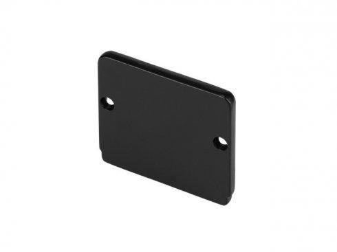 GLENOS koncová krytka pro Industrial Profil Flat, matná černá, 2 ks LA 214450