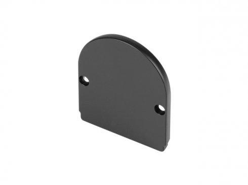 GLENOS koncová krytka pro Industrial Profil Dome, matná černá, 2 ks LA 214460