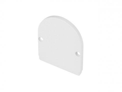 GLENOS koncová krytka pro Industrial Profil Dome, matná bílá, 2 ks LA 214461