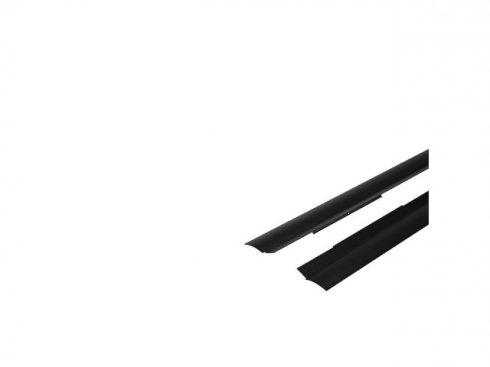 GLENOS Industrial Profil sada reflektoru, černá matná, 2 ks LA 214470