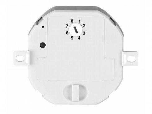 Bezdrátový montážní stmívač se 6 paměťovými adresami, max. 200 W halogenové žárovky, max 24 W LED SLV LA 470807