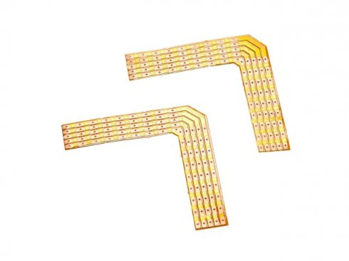 Spájené rohy 90°, pro FLEXSTRIP LED RGBW 24 V, max. 2 A, 2 ks SLV LA 552463