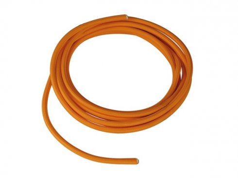Textile cable, 3-pole, 10m, orange H03VV-F, 3x0,75mm? SLV LA 961274