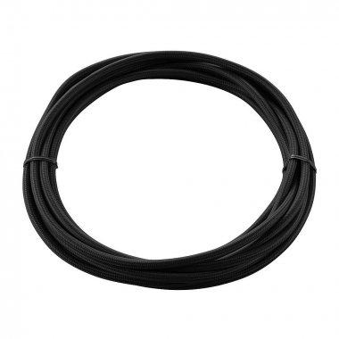 Textilní kabel 3pólový 5m černý - BIG WHITE