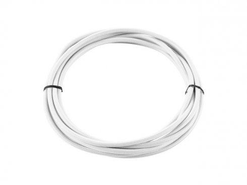Textilní kabel 3pólový 5m bílý - BIG WHITE SLV