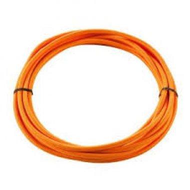 Textilní kabel 3pólový 5m oranžový - BIG WHITE SLV