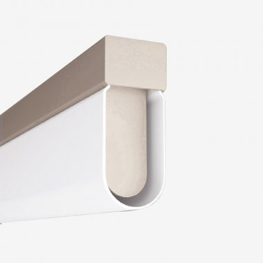 Stropní a nástěnné svítidlo LUCIS AULA 19,5W LED 4000K akrylátové sklo šedá AU1.L4.1500.47
