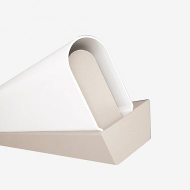 Nástěnné svítidlo LUCIS AULA 40W LED 3000K akrylátové sklo bílá AU3.L1.1500.41