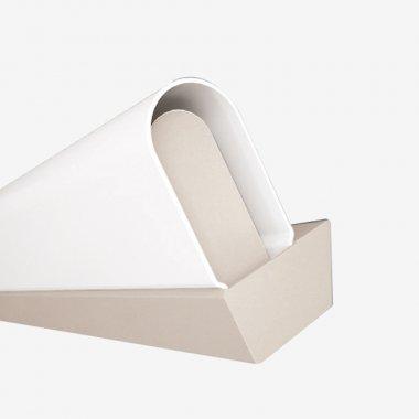 Nástěnné svítidlo LUCIS AULA 8W LED 3000K akrylátové sklo bílá AU3.L1.350.41