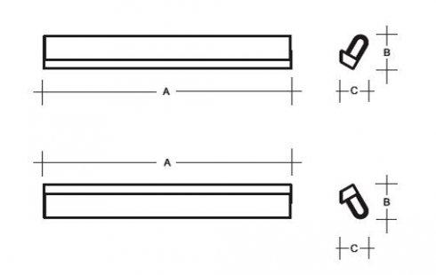 Nástěnné svítidlo LUCIS AULA 8W LED 3000K akrylátové sklo mosaz AU3.L1.350.74-2