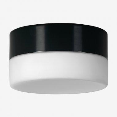Stropní a nástěnné svítidlo LUCIS NOMIA 7,9W LED 3000K sklo antracit opál BS14.K1.N14.33-1