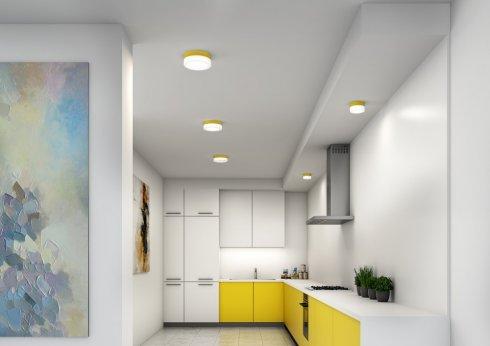 Stropní a nástěnné svítidlo LUCIS NOMIA 7,9W LED 3000K sklo antracit opál BS14.K1.N14.33-3