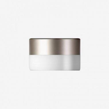 Stropní a nástěnné svítidlo LUCIS NOMIA 7,9W LED 3000K sklo argento dorato opál BS14.K1.N14.70