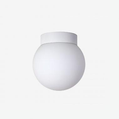 Stropní a nástěnné svítidlo LUCIS POLARIS S.P 11W LED 3000K sklo mosaz opál BS14.P1.200.74