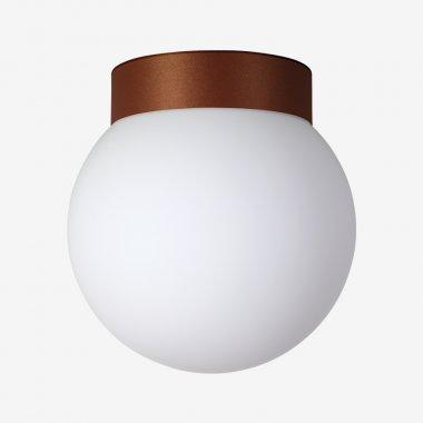 Stropní a nástěnné svítidlo LUCIS POLARIS S 7,9W LED 3000K sklo měď opál BS19.L1.280.72-1
