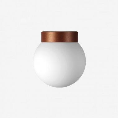 Stropní a nástěnné svítidlo LUCIS POLARIS S 1x150(116)W E27 sklo bílá opál BS24.11.350.41
