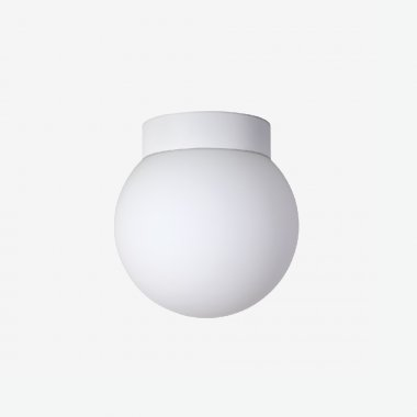 Stropní a nástěnné svítidlo LUCIS POLARIS S.P 29,4W LED 3000K sklo černá opál BS24.P1.350.45