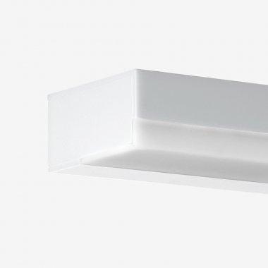 Nástěnné svítidlo LUCIS IZAR I 16W LED 4000K akrylátové sklo černá ( starý kód  I1.L12.600.93 )