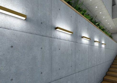 Nástěnné svítidlo LUCIS IZAR METAL 16W LED 4000K akrylátové sklo I2.L2.600.33 DALI-4