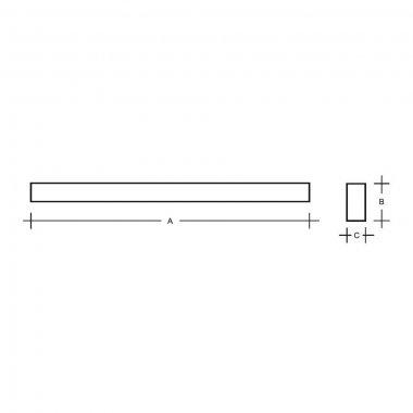 Stropní a nástěnné svítidlo LUCIS IZAR III 40W LED 4000K akrylátové sklo bílá I3.L12.1500.92-1