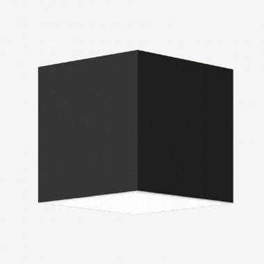 Stropní a nástěnné svítidlo LUCIS IZAR C 8,9W LED 3000K akrylátové sklo černá IC.L11.250.93-1