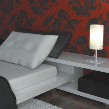 Stolní svítidlo LUCIS MAIA 1x150(116)W E27 sklo bílá opál LB700.11.M500-2