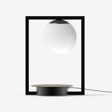 Stolní svítidlo LUCIS PALA 4,9W LED 3000K sklo černá opál LR.L1.P1.45M