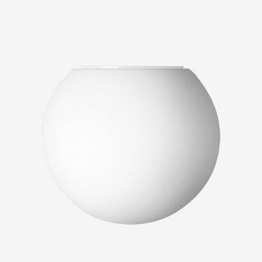 Svítidlo LUCIS ALFA přisazené 1x33W G9 sklo opál průměr 115mm
