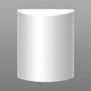 Nástěnné svítidlo ANANKE 1x100W, E27, triplexopál sklo bílé