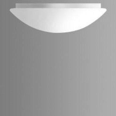 Stropní/nástěnné svítidlo CHARON 1x100W,E27, bílé sklo 28cm