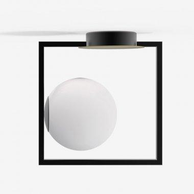 Stropní a nástěnné svítidlo LUCIS PALA 1x60W G9 sklo opál SR.11.P1.45M