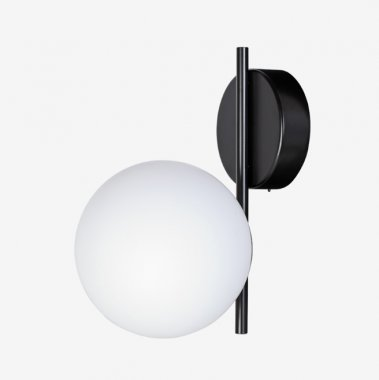 Nástěnné svítidlo ALFA LED 6,3W 3000K 970lm IP20 RAL 9005 černá