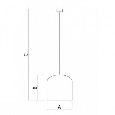 Závěsné svítidlo LUCIS JUNO LED 7,9W LED 3000K akrylátové sklo ZK.K1.J1.03-2