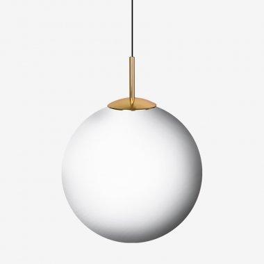 Závěsné svítidlo LUCIS POLARIS ZK 22,4W LED 3000K sklo mosaz opál ZK.P1.400.84