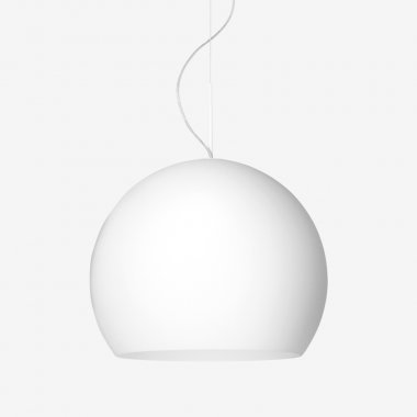 Závěsné svítidlo LUCIS NEMESIS 1x max 150(116)W E27 sklo chrom opál ZL1.11.N400.80