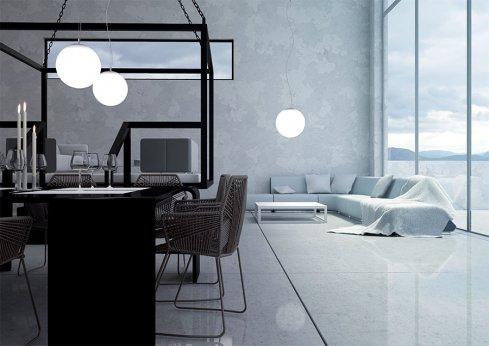 Závěsné svítidlo LUCIS POLARIS ZL 58,4W LED 3000K sklo opál ZL1.P3.600.31-3