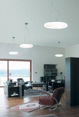 Závěsné svítidlo LUCIS FORUM PE 34,8W LED 3000K plast šedá opál ZL3.K11.O50 PE-2