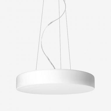 Závěsné svítidlo LUCIS ZERO 34,8W LED 3000K sklo šedá opál ZL3.K11.Z500