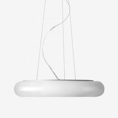 Závěsné svítidlo LUCIS FORUM PE 40,6W LED 4000K plast šedá opál ZL3.K12.O60 PE