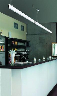 Závěsné svítidlo LUCIS IZAR III 19,5W LED 3000K akrylátové sklo černá ZLI3.L13.1500.93-2