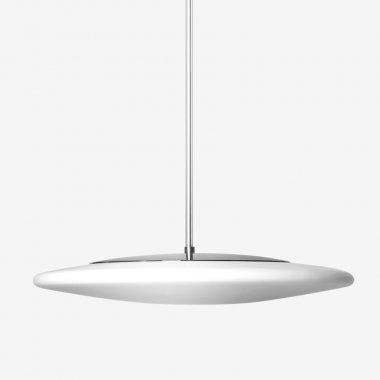 Závěsné svítidlo LUCIS RONDO 20,3W LED 3000K sklo chrom opál ZT.K1.R450.80