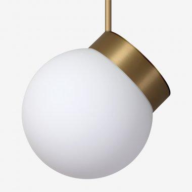 Závěsné svítidlo LUCIS POLARIS ZTR 7,9W LED 4000K sklo mosaz opál ZTR.L2.280.74-1