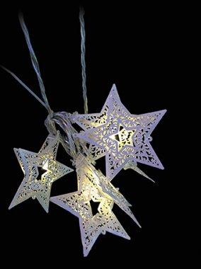LED vánoční řetěz HVĚZDY LED 3m MA31325